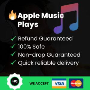 Apple Music Plays