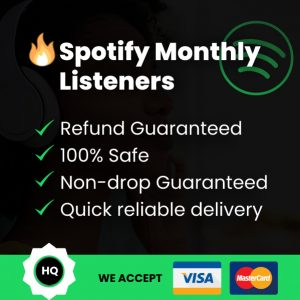 Spotify Monthly Listeners